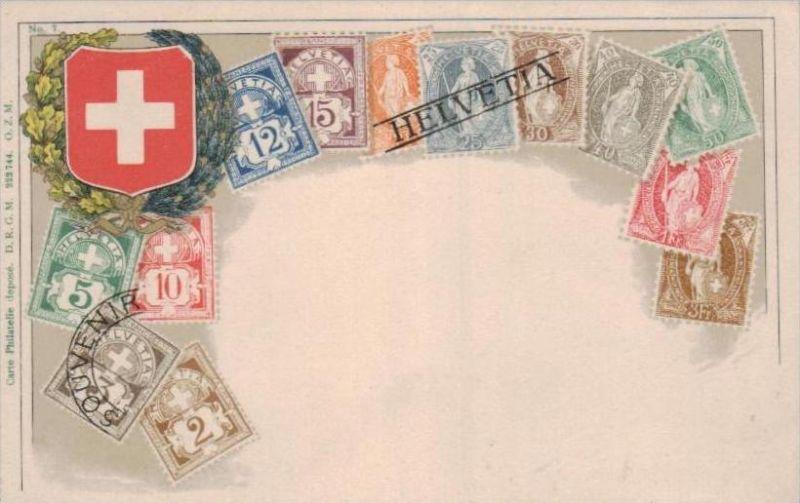 Briefmarken  -Schweiz .. - alte Karte  .. ( k9412) siehe scan 0
