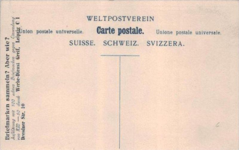 Briefmarken  -Schweiz .. - alte Karte  .. ( k9412) siehe scan 1