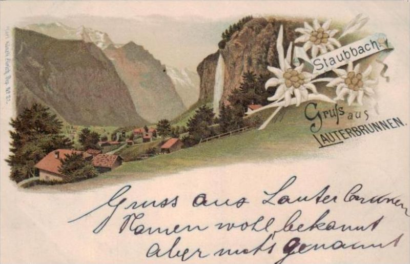 Lauterbrunnen.. - alte Karte  .. ( k9423) siehe scan 0