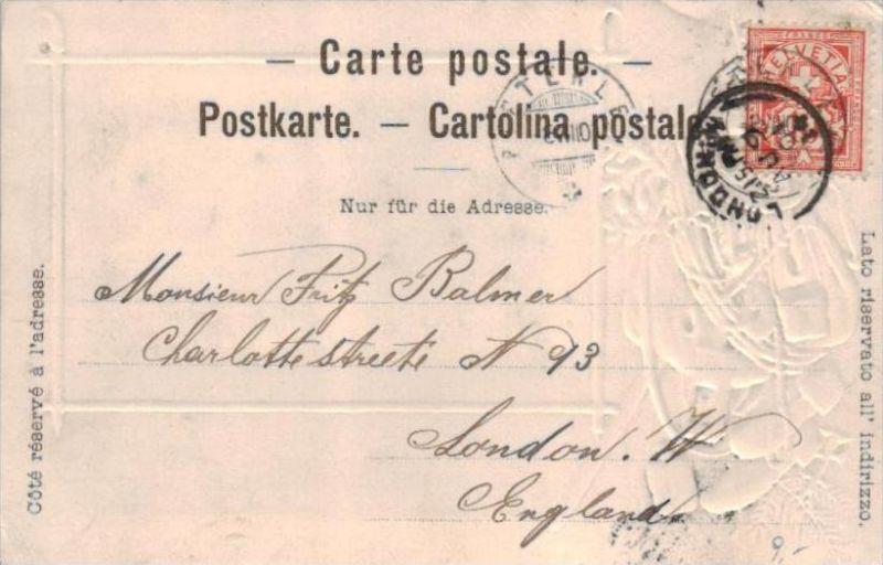 Biel Präge. - alte Karte  .. ( k9428  ) siehe scan 1