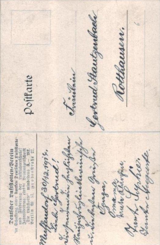 Zeppelin  - alte Karte  .. ( k9432  ) siehe scan 1