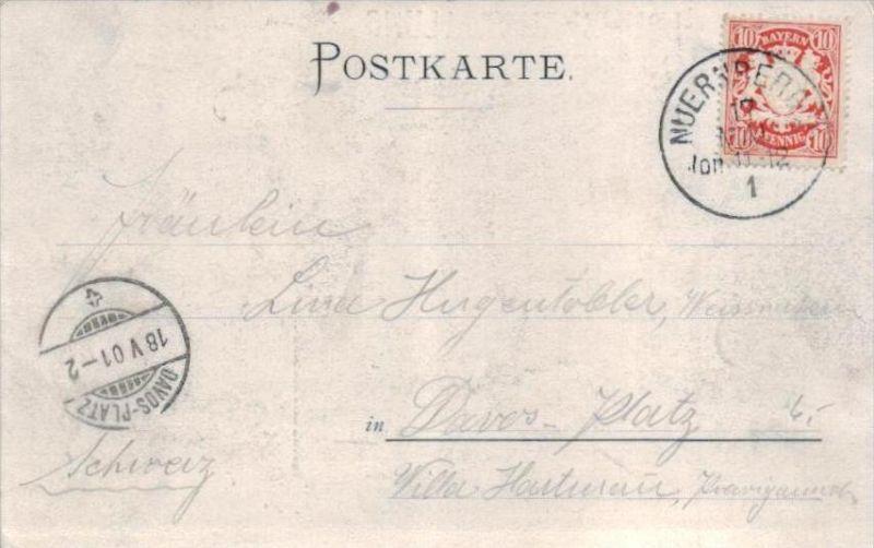 Nürnberg   - alte Karte  .. ( k9438  ) siehe scan 1