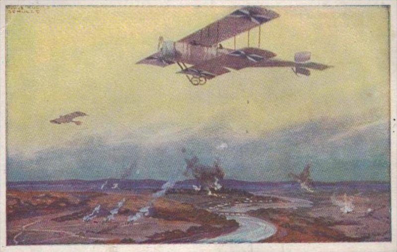 Flugzeug   - alte Karte  .. ( k9440  ) siehe scan 0