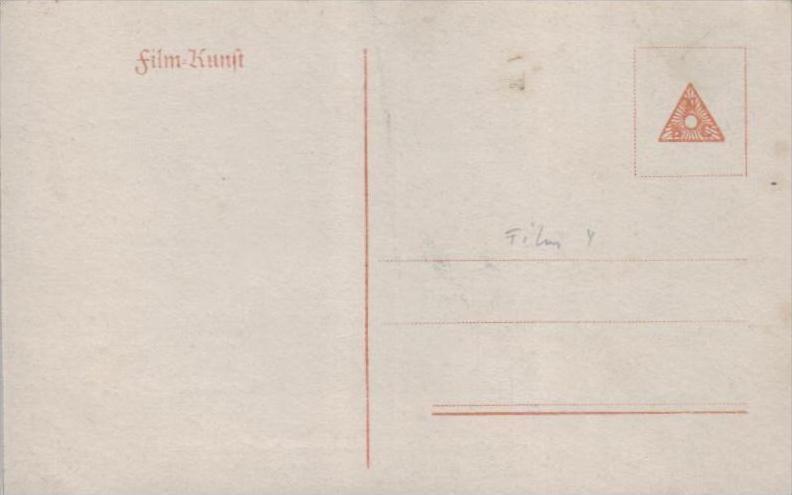 Thema /Film  - alte Karte  .. ( k9452  ) siehe scan 1