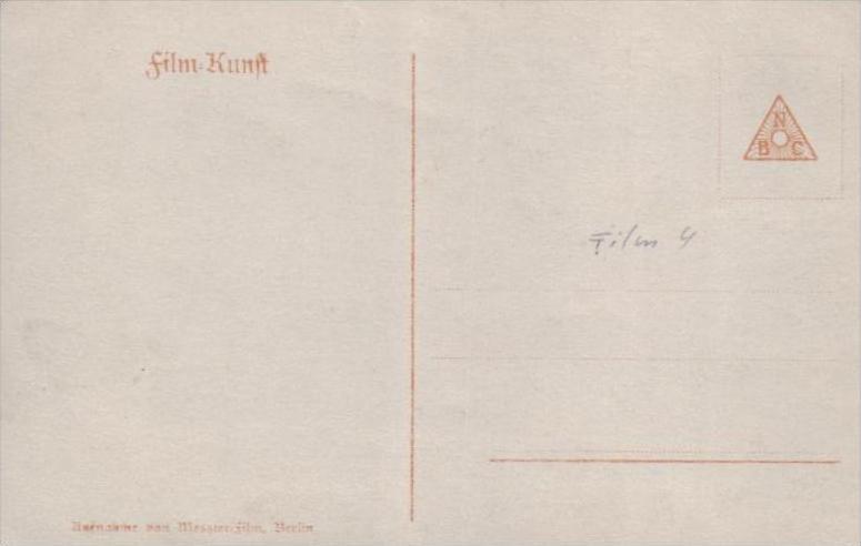 Thema /Film  - alte Karte  .. ( k9456  ) siehe scan 1