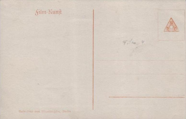 Thema /Film  - alte Karte  .. ( k9458  ) siehe scan 1