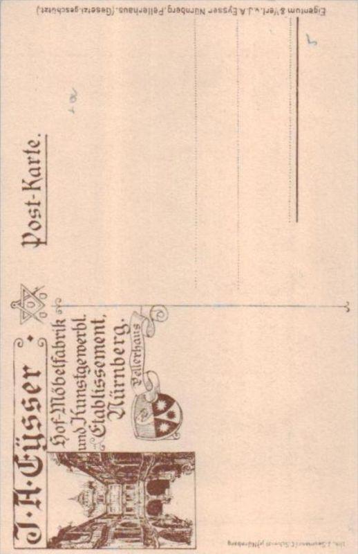 Nürnberg - alte Karte  .. ( k9502  ) siehe scan 1