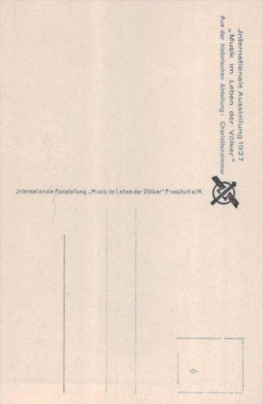 Thema Musik  - alte Karte  .. ( k9508  ) siehe scan 1