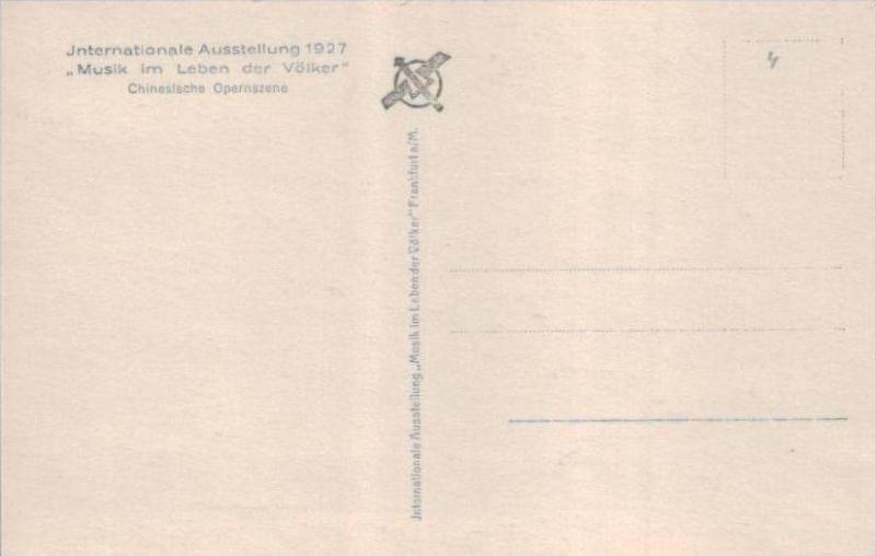 Thema Musik  - alte Karte  .. ( k9506  ) siehe scan 1