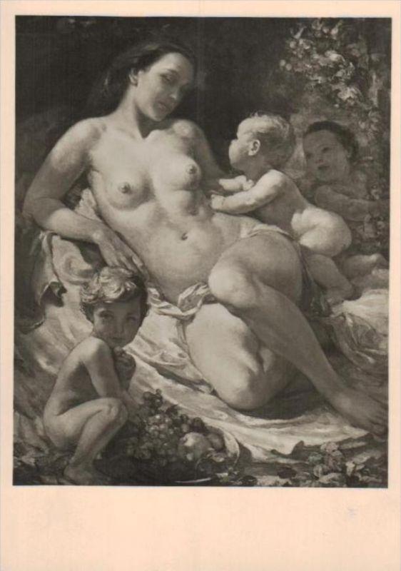 Erotik-aus Propaganda Serie  - alte Karte  .. ( k9532  ) siehe scan