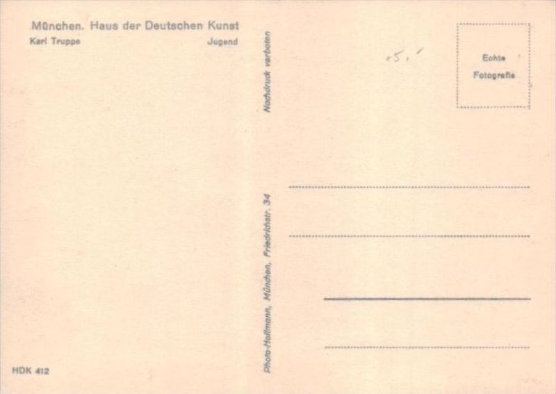 Erotik-aus Propaganda Serie  - alte Karte  .. ( k9520  ) siehe scan 1