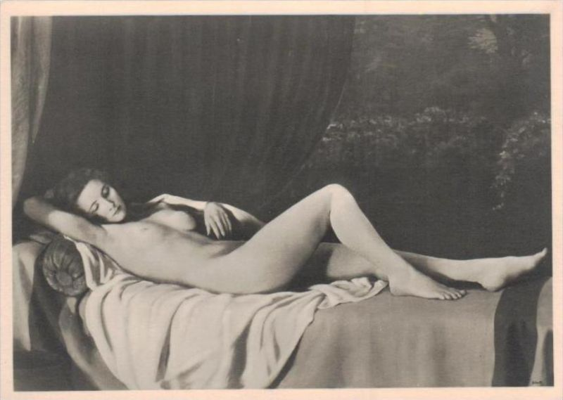 Erotik-aus Propaganda Serie  - alte Karte  .. ( k9518  ) siehe scan 0