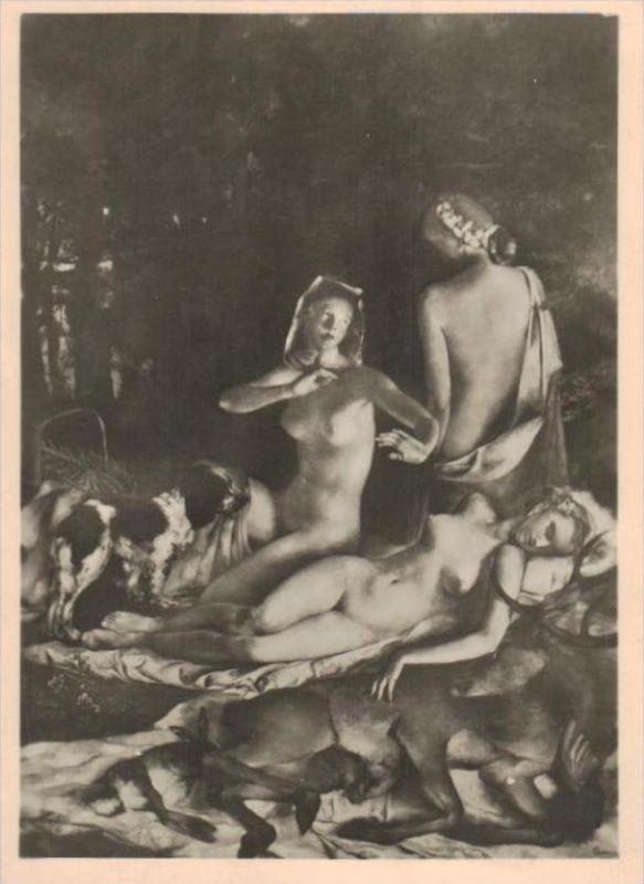 Erotik-aus Propaganda Serie  - alte Karte  .. ( k9516  ) siehe scan