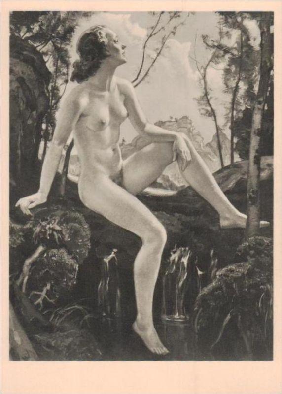 Erotik-aus Propaganda Serie  - alte Karte  .. ( k9514  ) siehe scan