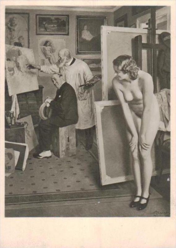 Erotik-aus Propaganda Serie  - alte Karte  .. ( k9512  ) siehe scan