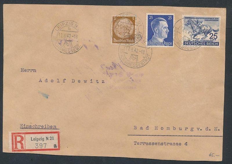 D.-Reich ... -netter Beleg   .. ( ze5842  ) siehe scan