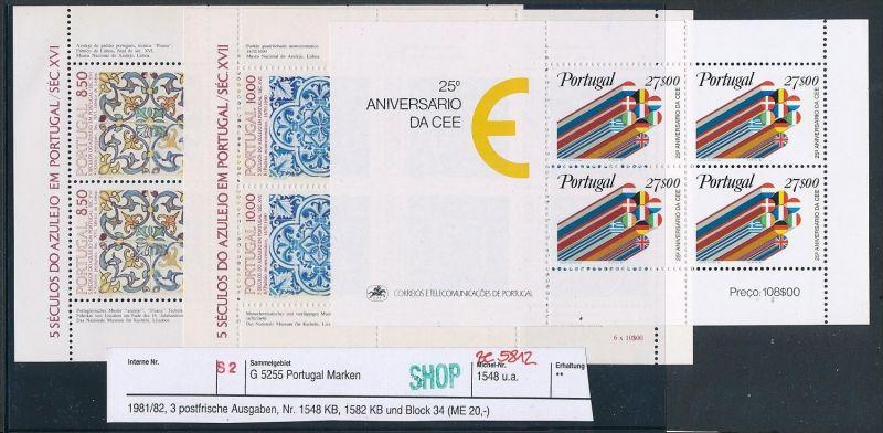 Portugal Block Lot DISCOUNT .. ( ze5812  ) siehe scan 0