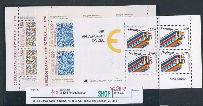 Portugal Block Lot DISCOUNT .. ( ze5813  ) siehe scan 0