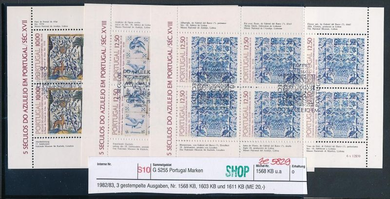 Portugal Block Lot DISCOUNT .. ( ze5829  ) siehe scan