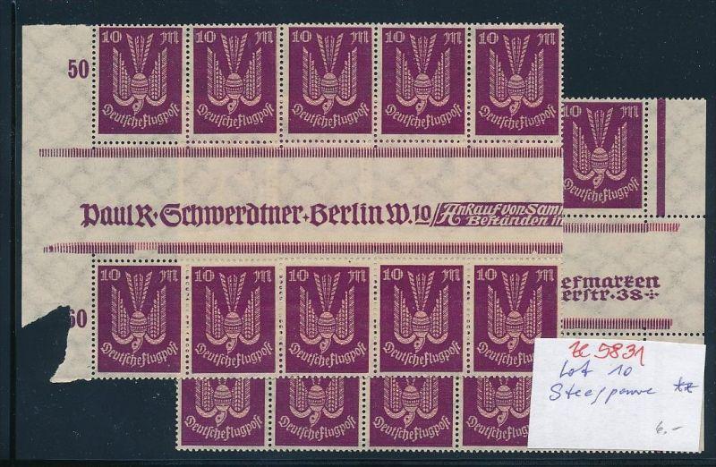 D.-Reich Lot Steegpaare  **.. ( ze5831  ) siehe scan