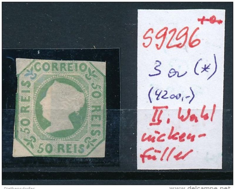 Portugal   Nr. 3a  II.Wahl    (s9296   ) siehe scan....
