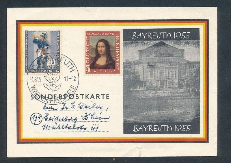 Bayreuth Sammler Karte...-  alter Beleg     ... ( t3744  ) siehe scan 0