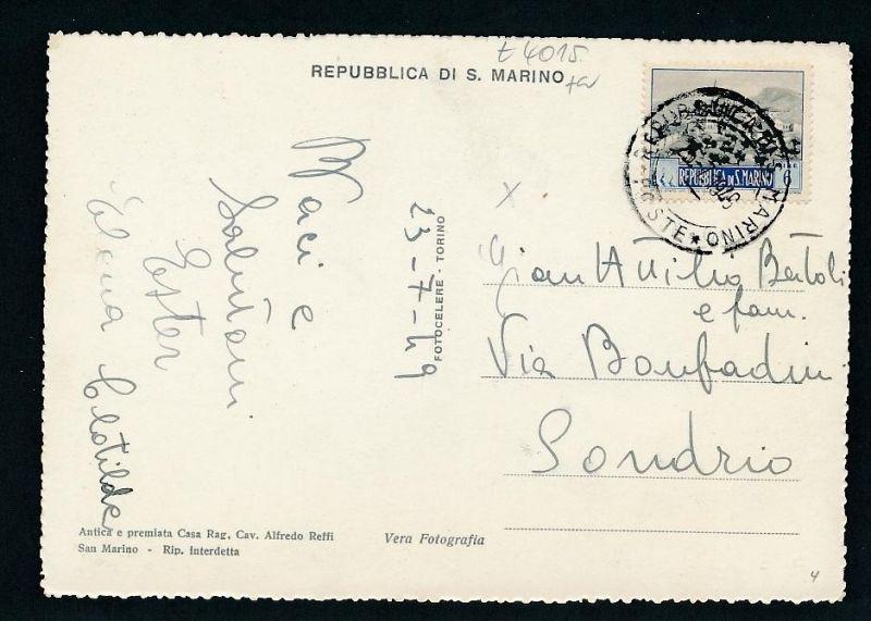 San Marino -netter  Beleg  ... ( t4015 ) siehe scan 0