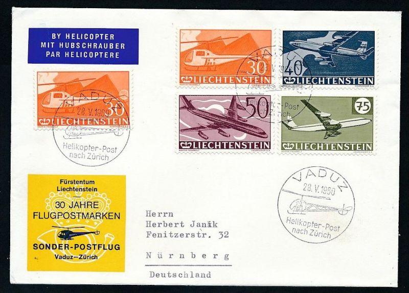 Liechtenstein Brief /FDC   -netter  Beleg  ... ( t4557  ) siehe scan