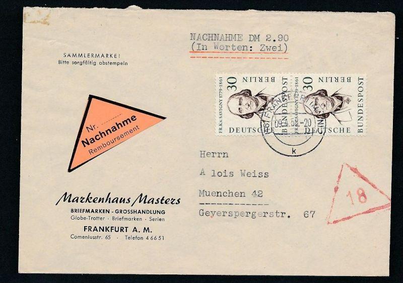 Berlin MEF Nr.170  ...-netter  Beleg  ... ( t4554  ) siehe scan 0
