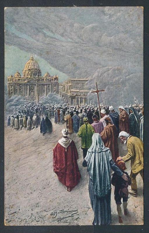 Vatican Karte  ..-netter Beleg  ( t4575  ) siehe scan 1