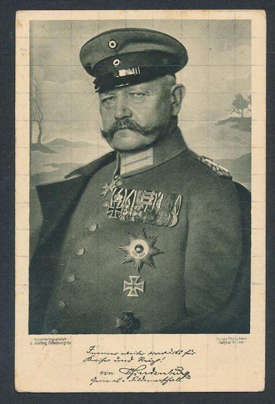 R.v.Hindenburg ...-netter Beleg  ( t4660  ) siehe scan