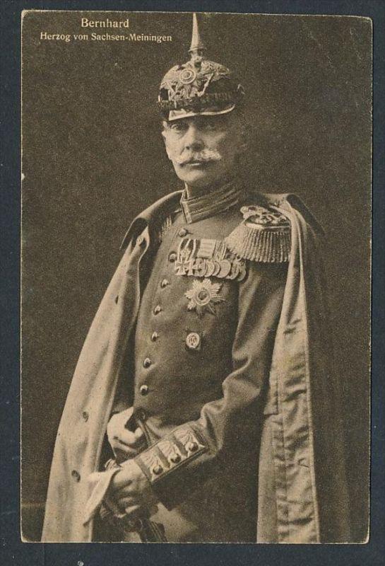 Herzog Sachsen Meiningen ...-netter Beleg  ( t4675  ) siehe scan 0