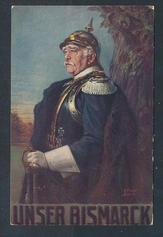 Otto v.Bismark.......-netter Beleg  ( t4676  ) siehe scan 0