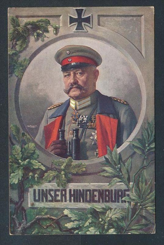 P.v.Hindenburg.......-netter Beleg  ( t4677  ) siehe scan