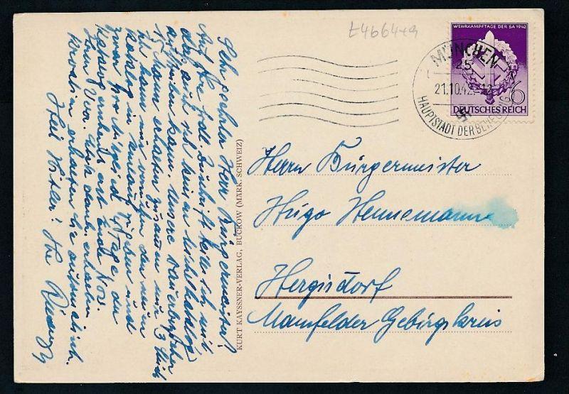 3.Reich Sammler Karte.......-netter Beleg  ( t4664  ) siehe scan 1