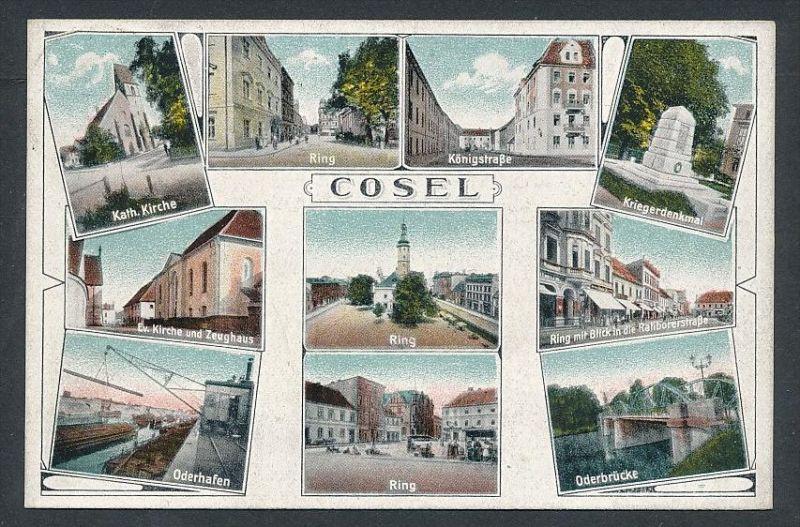 Cosel - alte Karte  ( t4566  ) siehe scan 0