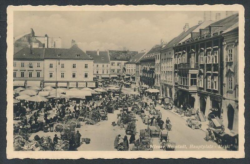 Wien - alte Karte -gebraucht     (da5832 ) siehe Bild !