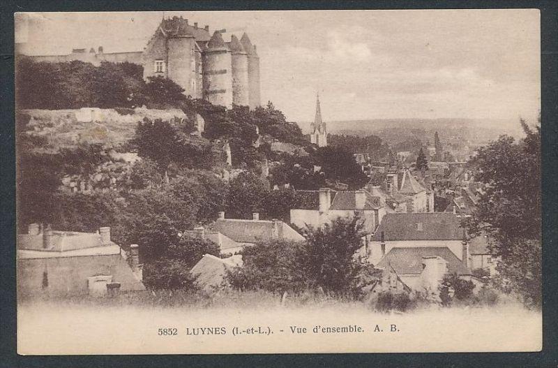 Lynes - alte Karte -gebraucht     (da5822 ) siehe Bild !