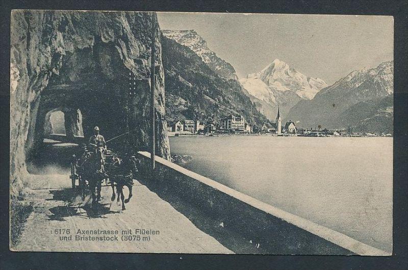 Flüelen  - alte Karte -gebraucht     (da5829 ) siehe Bild !