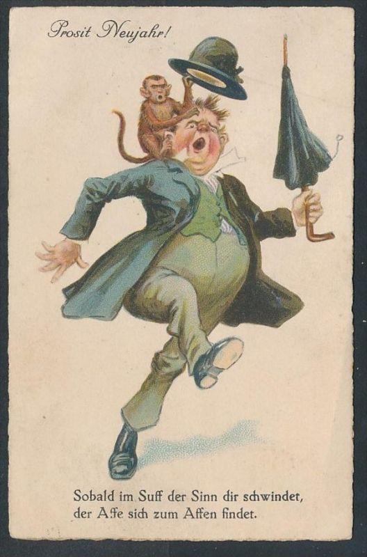 Humor...- alte Karte - gebraucht     (da5827 ) siehe Bild !