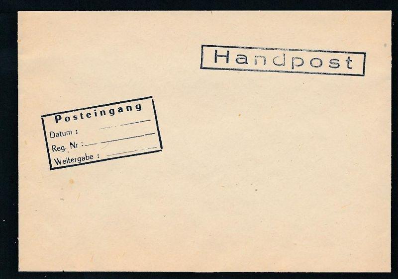DDR- Dienst/Botschaft Algerien Beleg -HANDPOST sehr selten !! Bitte lesen..    (t4797 ) siehe Bild !