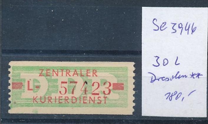 DDR ZKD  Nr. 30 L **   (se3946 ) siehe Bild ! 0