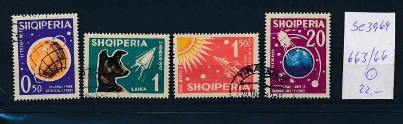 Albanien  Nr.   663-66   o  (se3964 ) siehe Bild ! 0