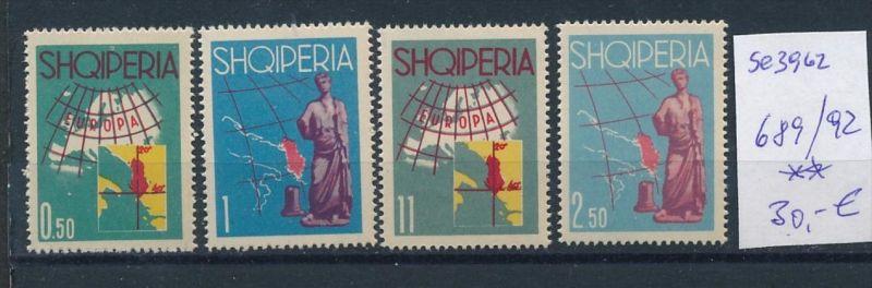 Albanien  Nr.   689-92  **  (se3962 ) siehe Bild ! 0
