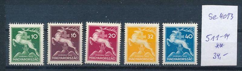 Ungarn  Nr. 511-14   **  (se4013 ) siehe Bild ! 0