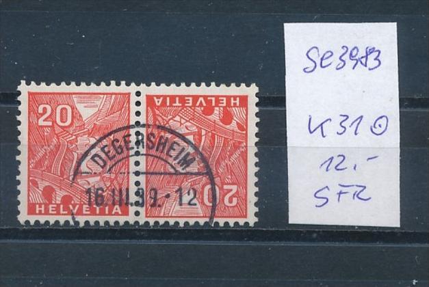 Schweiz  Nr.  k 31   o      (se3983  ) siehe Bild ! 0