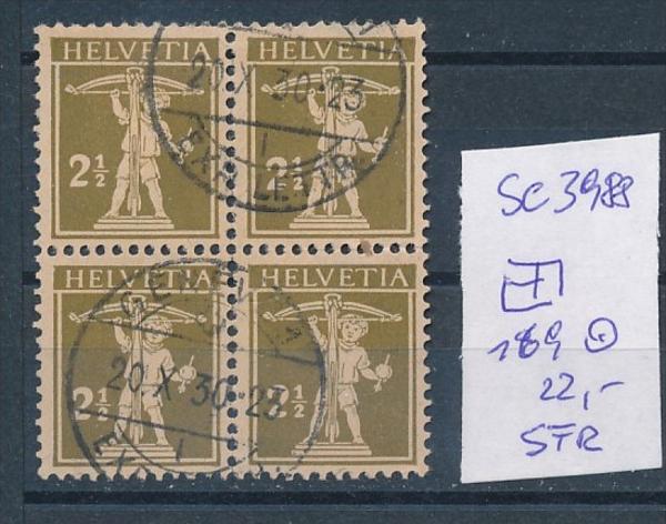 Schweiz  Nr. 4er  169   o   (se3988  ) siehe Bild !