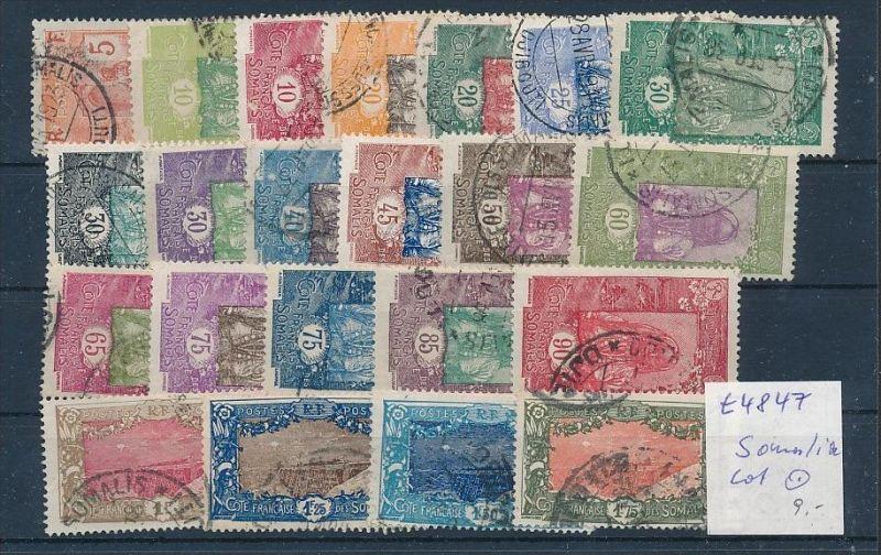 Somalia - Lot alte  Marken.....   (t4847 ) siehe Bild ! 0