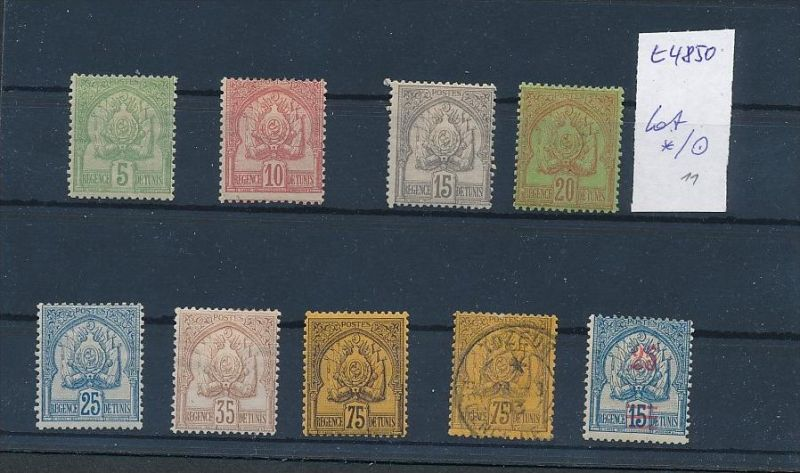 Tunesien - Lot alte  Marken.....   (t4850 ) siehe Bild !