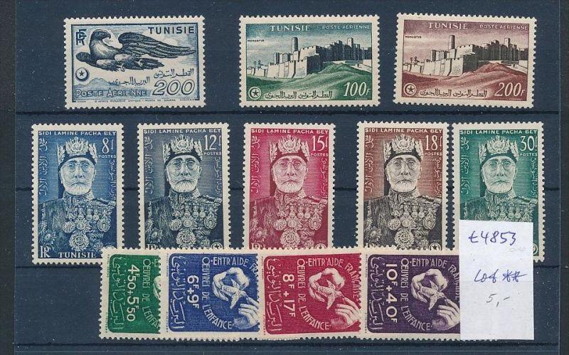 Tunesien - Lot ....   (t4853 ) siehe Bild !